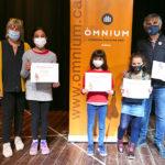 Tres alumnes del Col·legi Sant Genís i Santa Agnès guanyen un dels Premis Sambori 2021 de la demarcació Alt Ter-Garrotxa