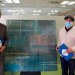 El pintor taradellenc Jesús Ramos dona un quadre al Consorci Hospitalari de Vic com a agraïment als professionals sanitaris