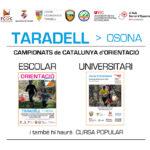 Taradell acollirà el 30 de maig el Campionat de Catalunya universitari i escolar d'orientació
