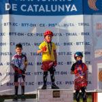 El taradellenc David López es proclama subcampió de Catalunya de trial en bicicleta en categoria benjamí