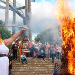 La tradició de rebre la Flama del Canigó segueix ben viva a Taradell
