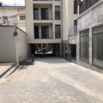 Ja es pot transitar pel passatge de Les Monges que connecta el carrer de la Vila i el Passeig Domènec Sert
