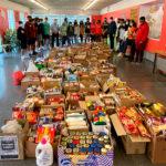 Els alumnes de 3r d'ESO l'Institut de Taradell recapten 2.250 quilos d'aliments i productes en la campanya solidària per Càritas