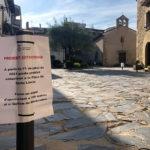 Prohibit aparcar a tota la Plaça Santa Llúcia a partir d'avui 1 de juliol